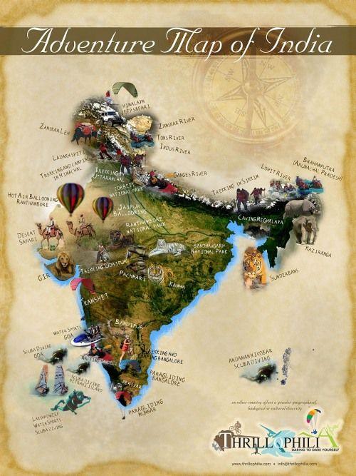 101 Best Adventure Activities to do in India.