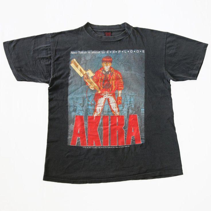 Vintage 90s AKIRA 1988 Akira Committee Fashion Victim T-Shirt for sale!  http://www.ebay.com/itm/-/152563739563?  #Vintage #90s #AKIRA #AkiraCommittee #FashionVictim #KatsuhiroOtomo #TShirt #Tee #Japan #Anime #Manga #Rare #Original  #Japanese #ScienceFiction #Film