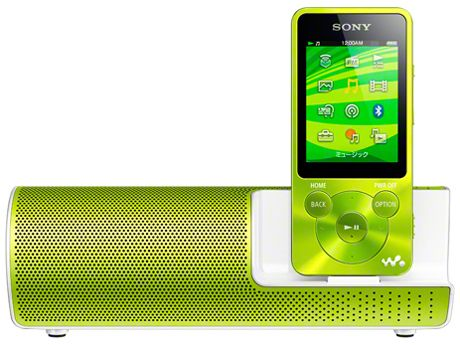 One of the best ranked MP3 players on Kakaku.com  SONY Walkman S-series NW-S784K Battery lasting up to 77 hours! Bluetooth option. Speaker included.