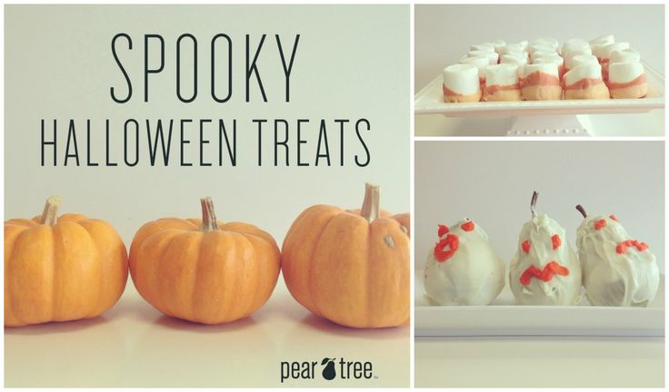 Halloween Treat Ideas - Spooky Halloween Treat Ideas | Pear Salad a blog by Pear Tree Greetings