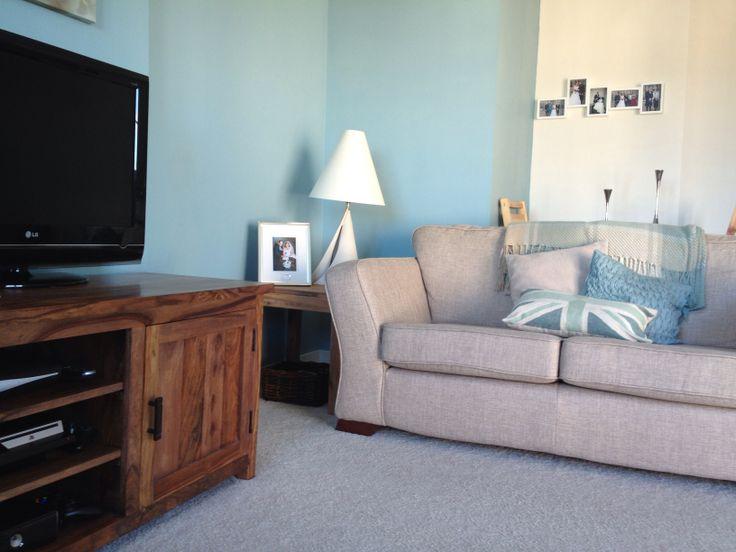 Design Ideas Fabulous Duck Egg Blue Brown Living Room Ideas 26 Wtsenates