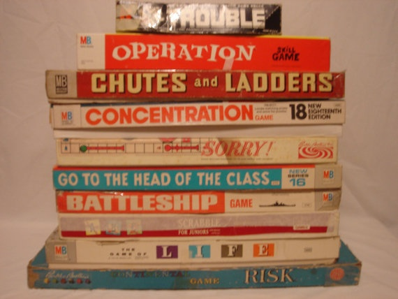 Vtg Board Game Lot Operation Trouble by MadisonianLegends on Etsy, $70.00