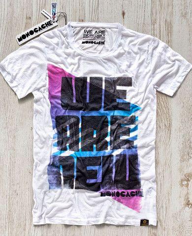T-shirten 'We Are New' er fra det kvalitetsbevidste brand #Monocache og bærer Berlin's skyline på brystet. #tshirt #streetwear #graphic #tee #aalborg #t