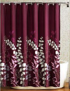 maroon-shower-curtain