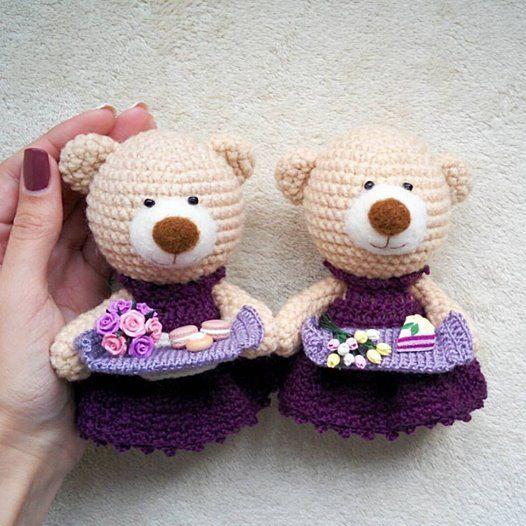 crochet teddy bears
