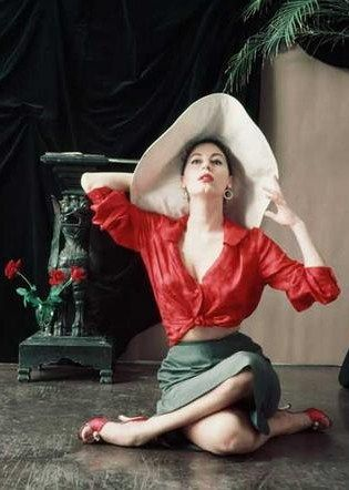 Ava Gardner by Milton H. Greene, 1954