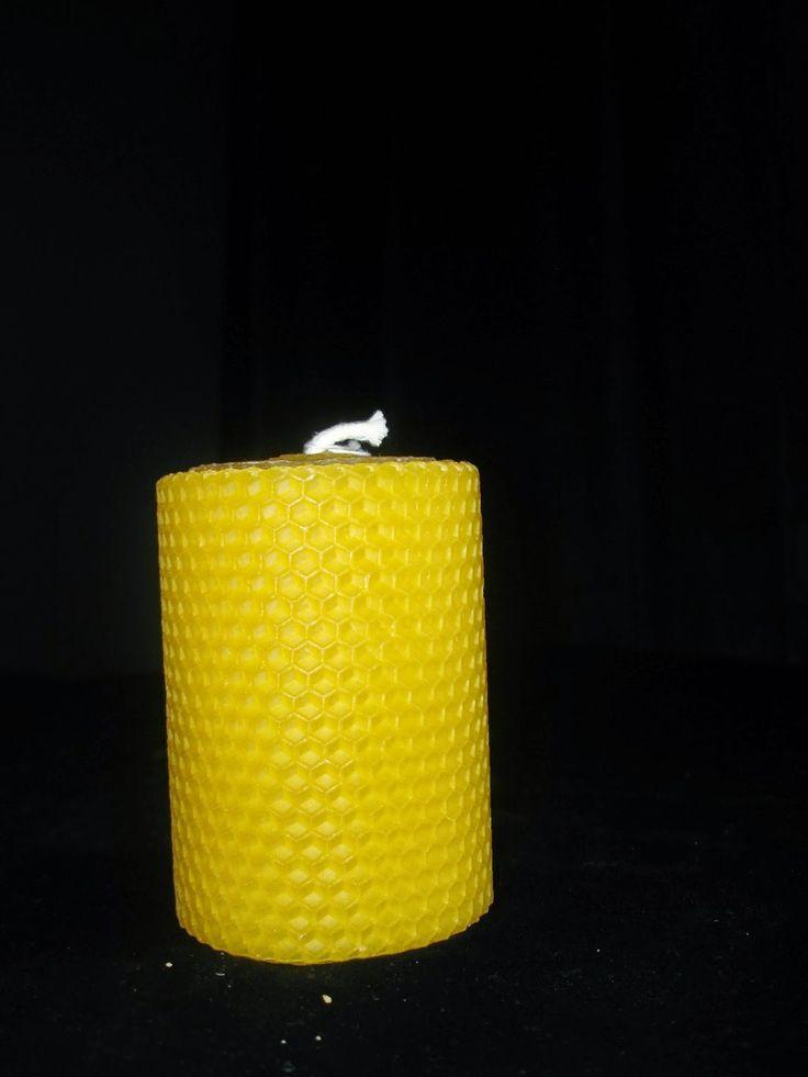 Φυσικά κεριά από κερί μέλισσας
