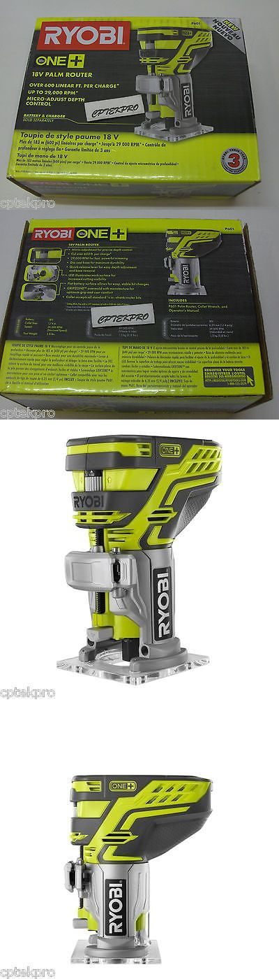 Routers 122829: New Ryobi One One+ 18V 18 Volt Lithium Ion Li-Ion Cordless Palm Trim Router P601 -> BUY IT NOW ONLY: $81.99 on eBay!