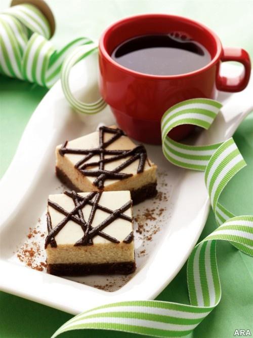 Espresso chocolate squares