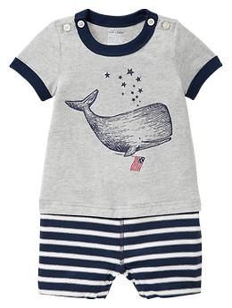I know it's ~supposed to be for a boy, but I love it for E. Nautical is perfect.