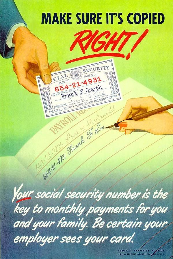 Best Social Security Vintage Posters Images On