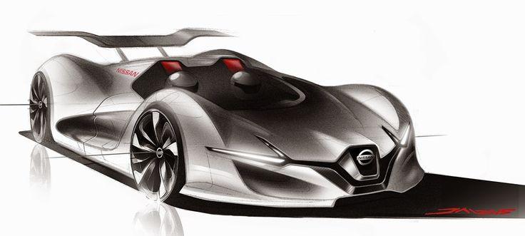 Automotive Sketches 2015 on Behance
