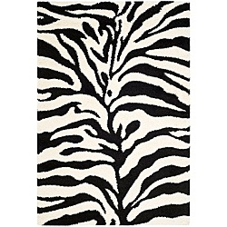 zebra rugs. http://www.overstock.com/Home-Garden/Hand-woven-Ultimate-Ivory-Black-Shag-Rug-8-x-10/5773086/product.html?CID=214117