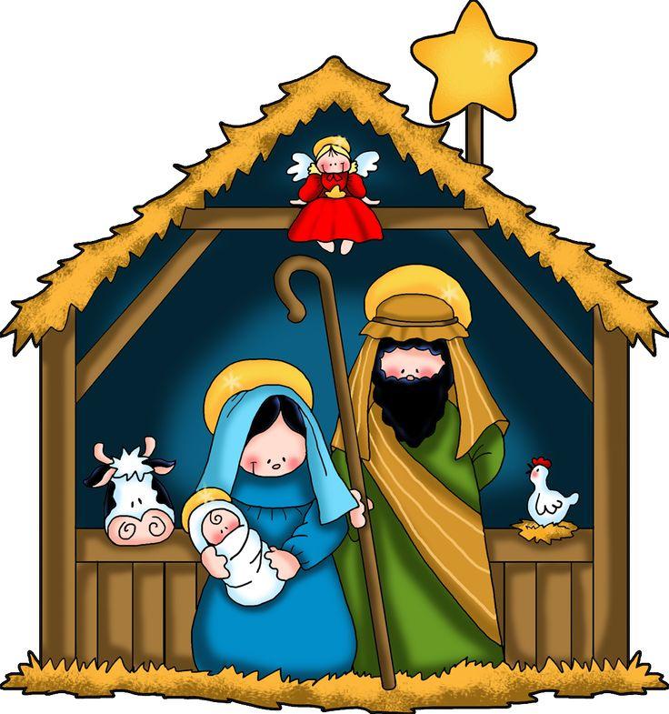 nativity clipart ideas