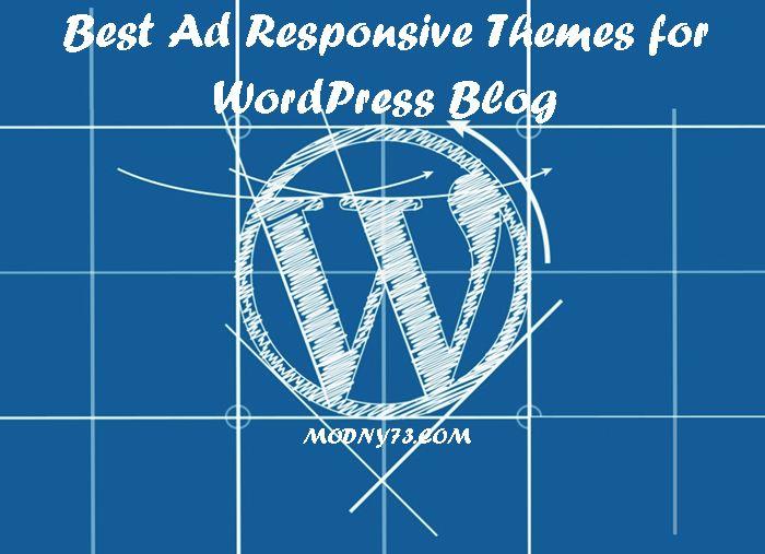 15 Best Ad #Responsive #Themes for #WordPress Blog