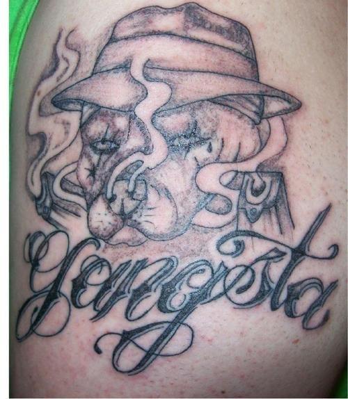 Best 25+ Gangster Tattoos Ideas On Pinterest