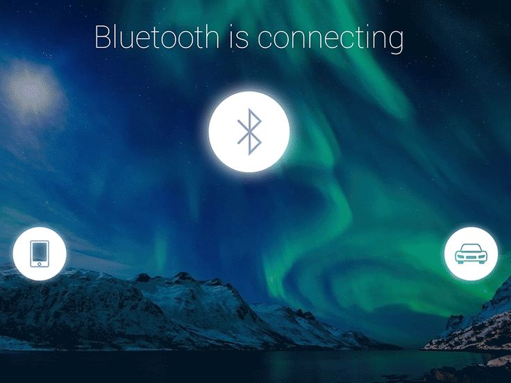 HMI Bluetooth Connecting