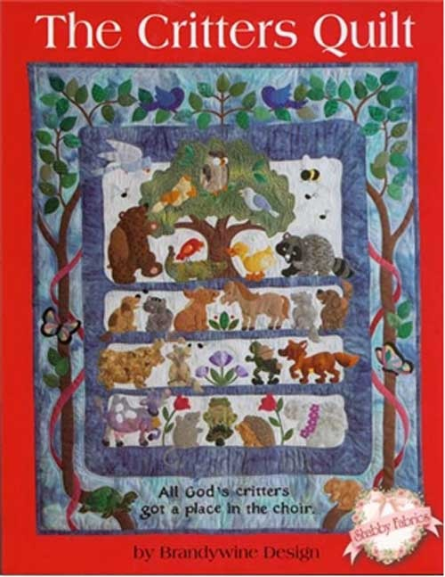 Critters Quilt Pattern: Based on the Bill Staines song, A