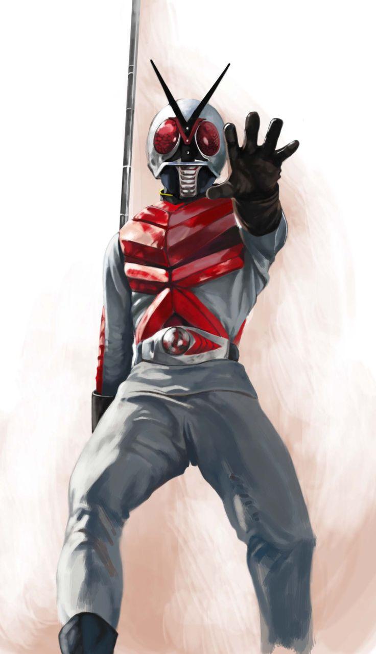僕が一番好きな、怪人を棒でぶっ叩く仮面ライダーです。