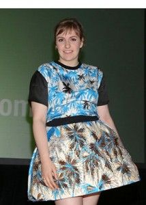 FLARE Five: The Ultimate Lena Dunham Fashion Moment - Leslie Mann and Judd Apatow, Jenni Konner doesn't like being compared to Lena Dunham, Karlie Kloss has a habit of hoarding, Match.com helping people date their ex's look-a-like, Juicing... expensive trend or healthy indulgence? - Read our daily breakdown at http://www.flare.com/fashion/lena-dunham-jenni-konner-fight/