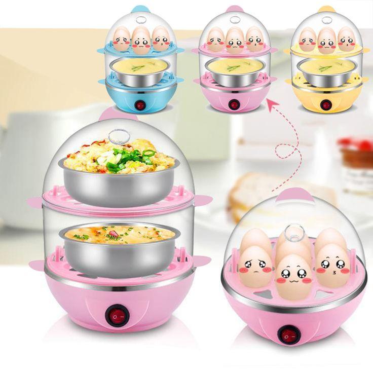 Multi-Function Safe Automatic Power Egg Boiler Convenient Electric Egg Boiler Cooker Steamer Egg Custard Kitchen Tools