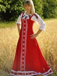 Russian sundress 3