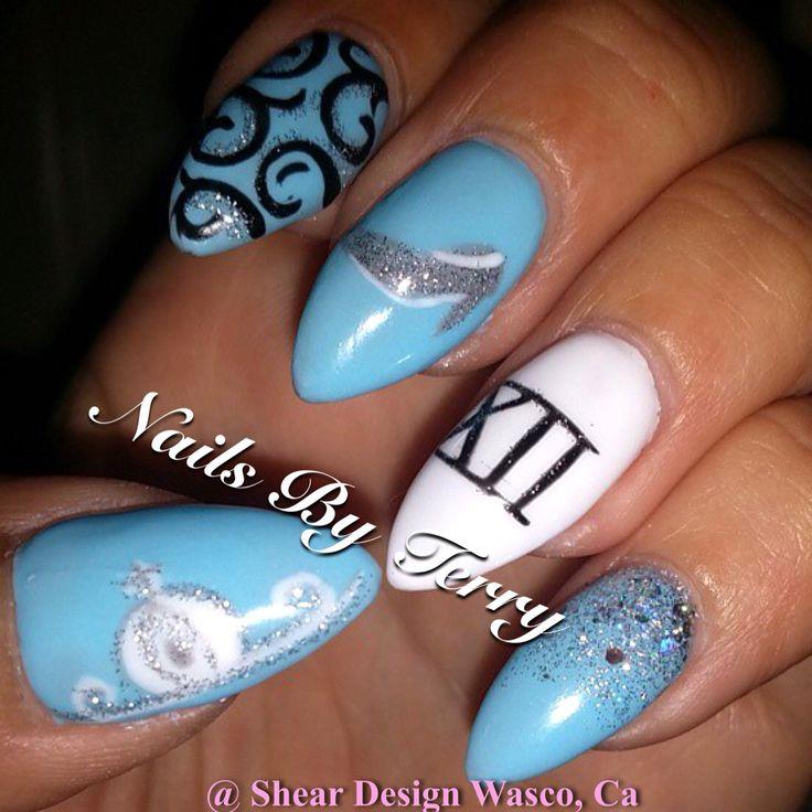 Cinderella Nails: 16 Best Cinderella Nail Designs Images On Pinterest