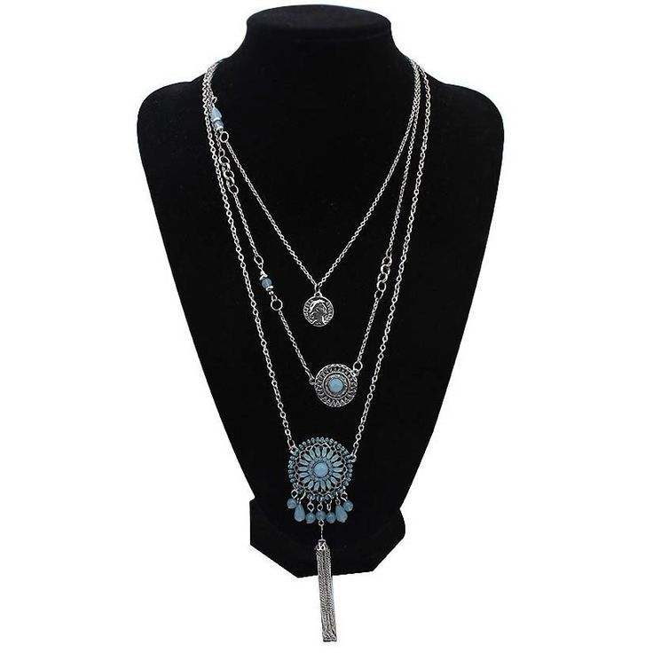 Multi-layer  Resin Flower Collares   Necklace(Delivery 15-25 Days)