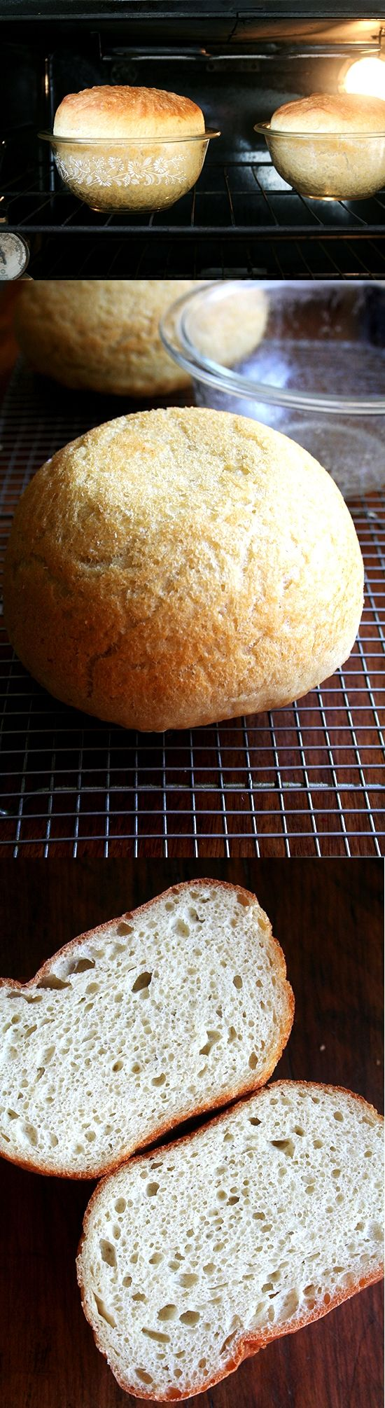 Peasant Bread ~ If you've never bake the bread than this is your chance to start!