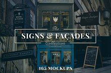 165 Signs & Facades Collection