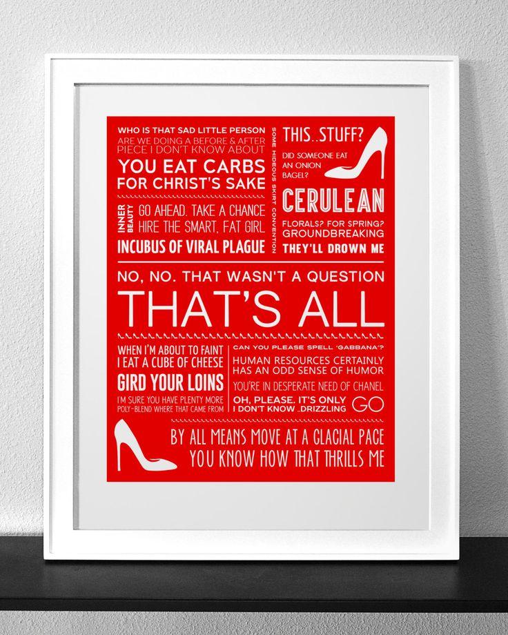 24 best Wifeys favorite movie quotes images on Pinterest | Devil ...