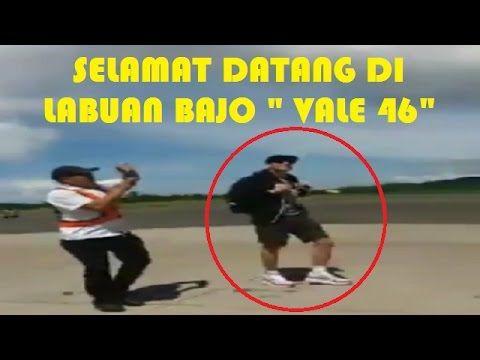 Detik-Detik Kedatangan Valentino Rossi Ke Labuan Bajo, NTT Indonesia Unt...