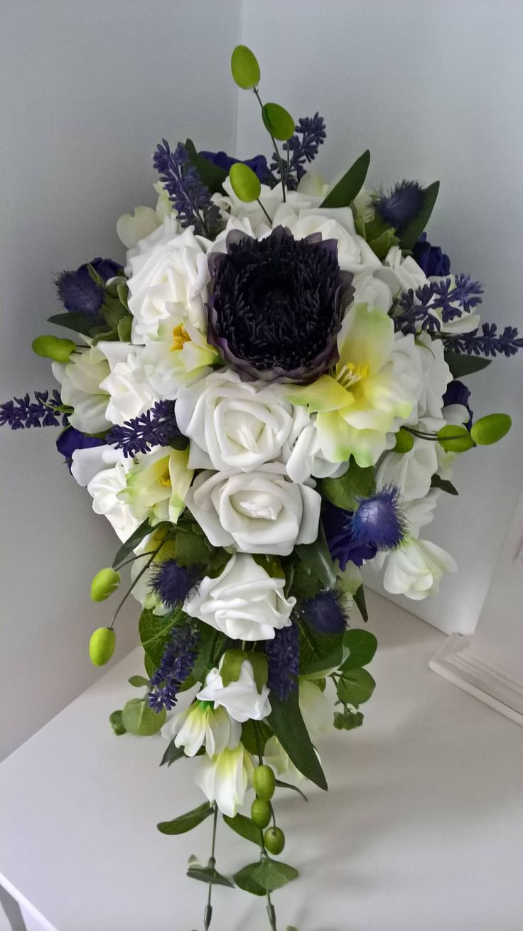 Islay Scottish shower Bouquet by ChicFlorals on Etsy