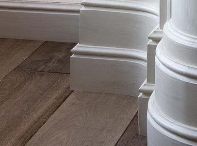 Image result for modern skirting board profiles & plinth blocks
