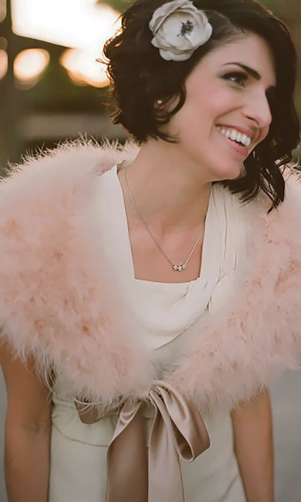 30 Short Wedding Hairstyle Ideas So Good You'd Want To Cut Your Hair ❤ See more: http://www.weddingforward.com/wedding-hairstyle-ideas-for-short-hair/ #weddings #hairstyles
