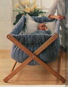 Soniando...: Berço para bebê - Faça você mesma!!!                                                                                                                                                                                 Mais