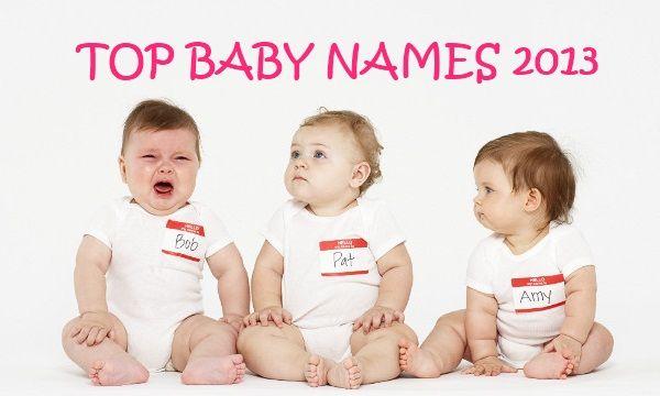 Top Baby Names 2013 So Far - Baby Names Log