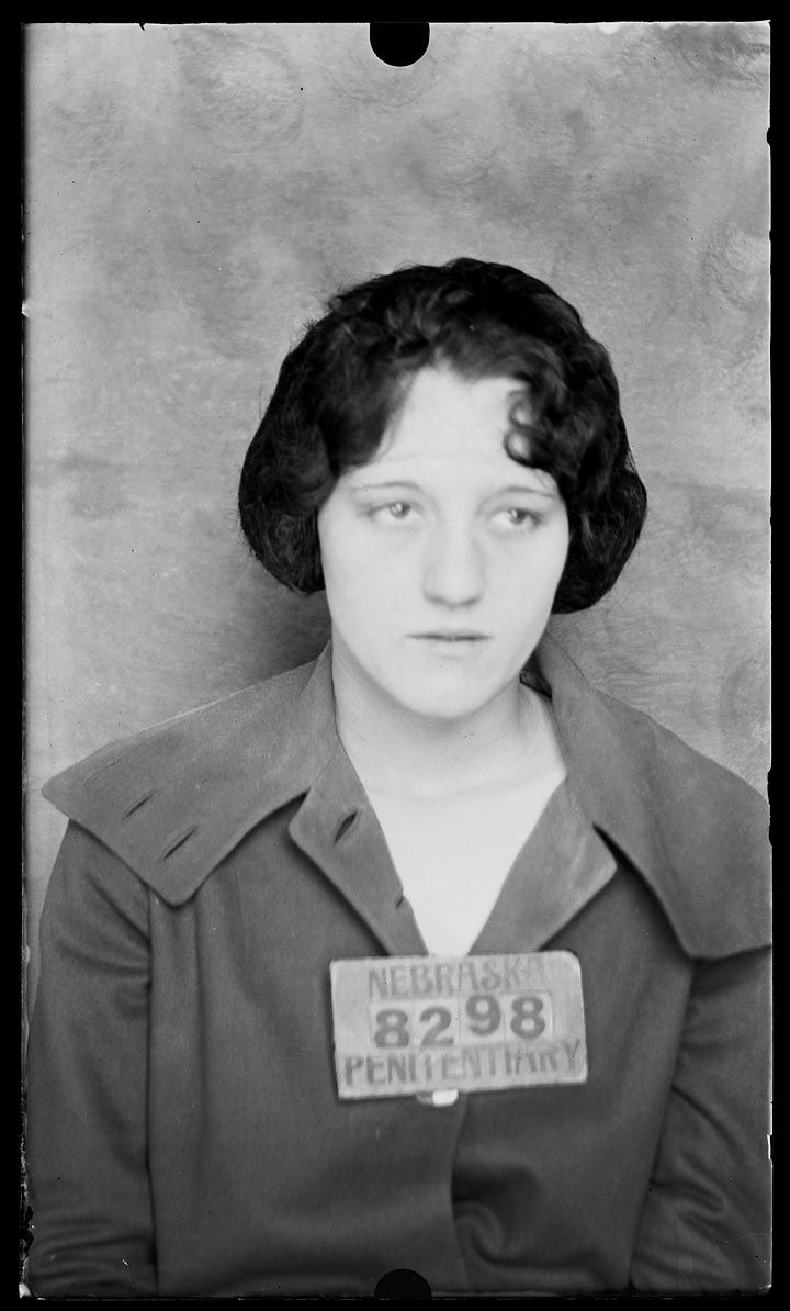 The vintage mugshots of shoplifters bank robbers and murderers from - Historic Nebraska Mug Shots Ruby Fox And Myrtle Hetrick