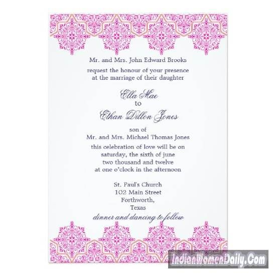 8 Best Indian Wedding Cards Images On Pinterest Bridal Weddings And