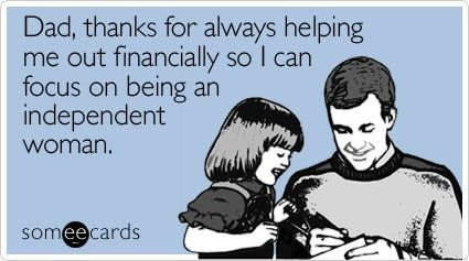 20 Goofy Someecards to Show Your Dad You (Kind of) Care