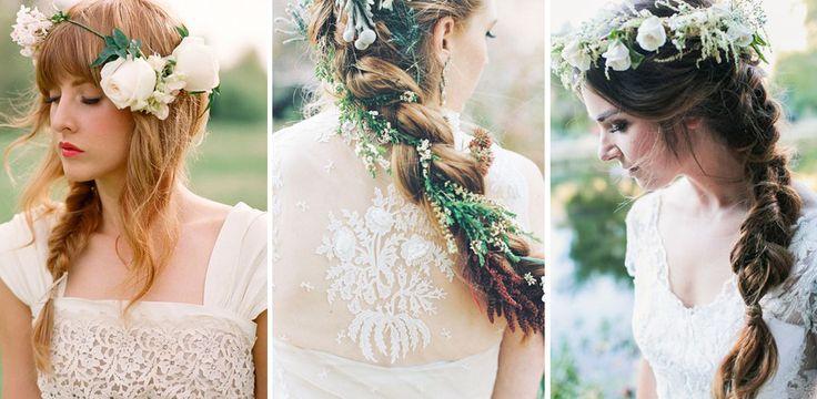 Le acconciature da sposa con treccia più romantiche di sempre : Album di foto - alfemminile