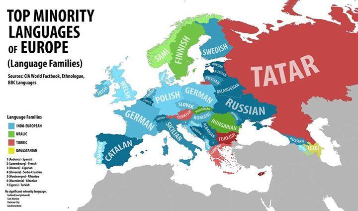 lengua mas hablada en europa: