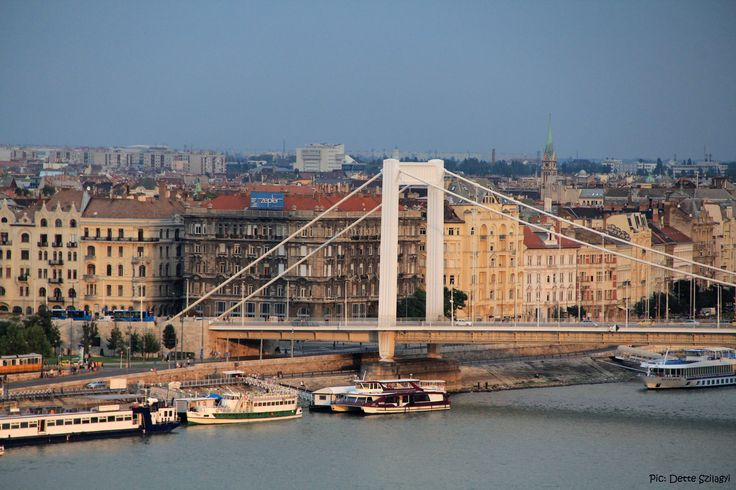 Budapest, Elisabeth Bridge