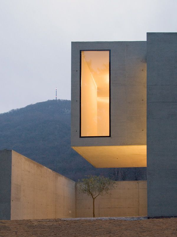 Concrete. light window