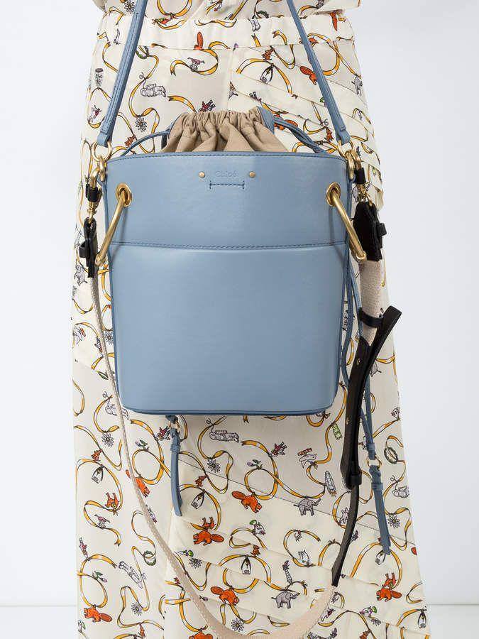 9da63f5af7895 Chloé Roy bucket bag - light blue Chloe purse | CHLOÈ Bags | Chloe ...