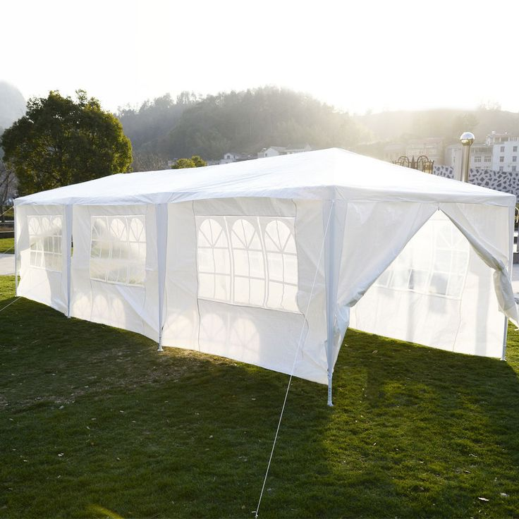 10'x30'Canopy Party Wedding Tent Outdoor Heavy duty Gazebo Pavilion Cater Events #Goplus