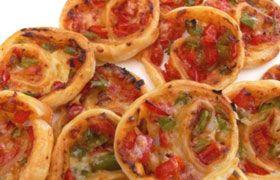 Пиццы-мини из рулета