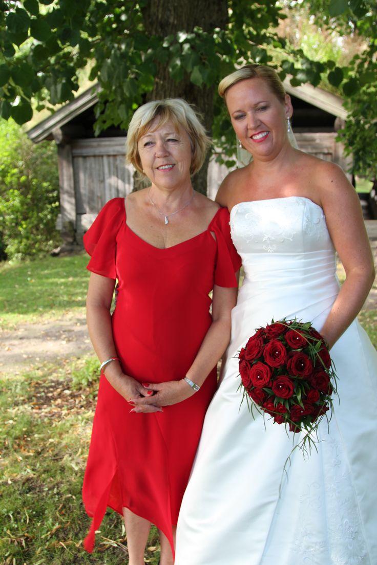 Min vakre mor og min fine søster