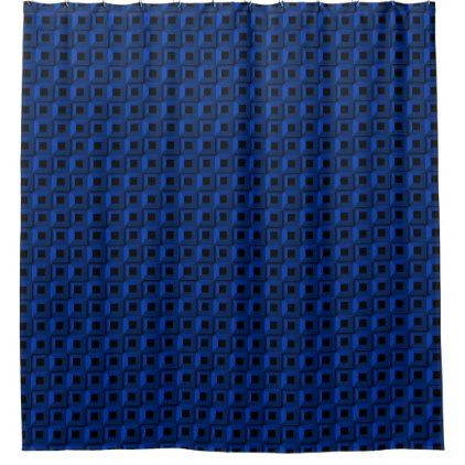 Barnacles in Blue Shower Curtain - shower gifts diy customize creative