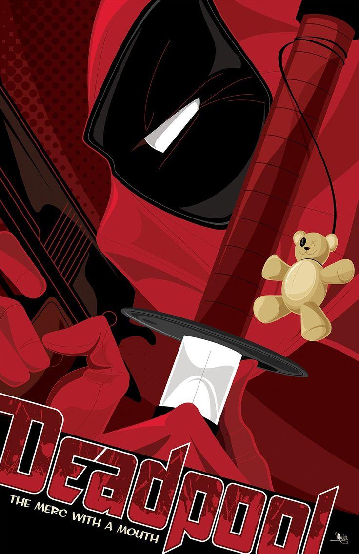 Deadpool (2016) [971 x 1500] HD Wallpaper From Gallsource.com